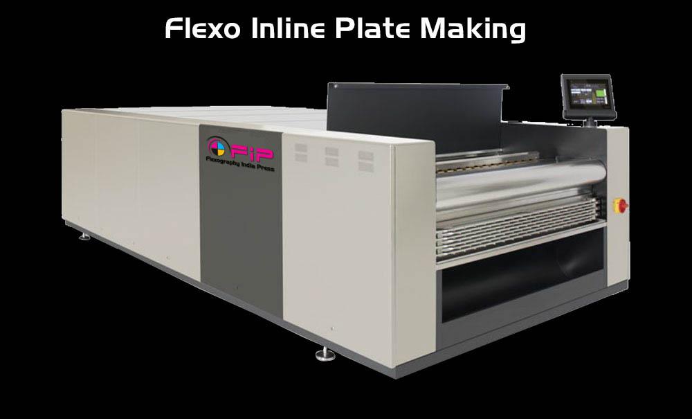 Flexo Inline Plate Making - Flexography India Press